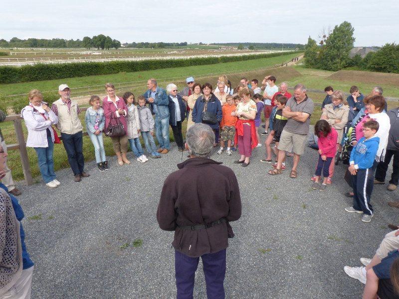 Visite du CERGO le 8 juillet 2014 - Accueil et historique de la création du centre