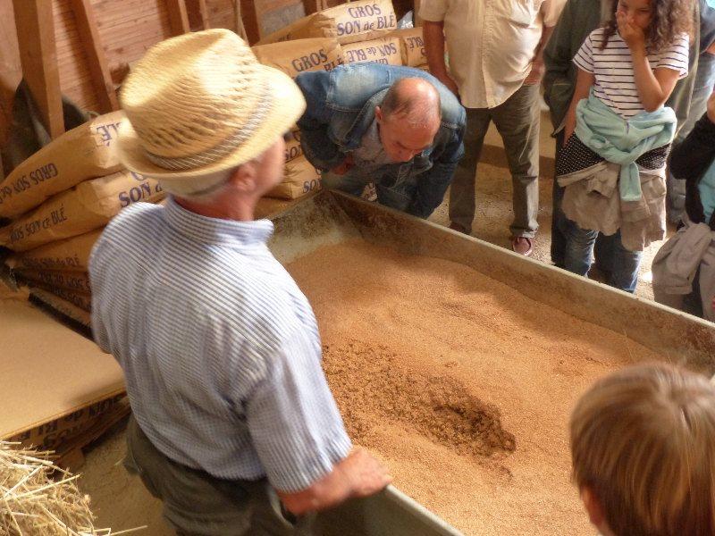 Visite du CERGO 2014 - Lors de la visite de l`écurie Couëtil