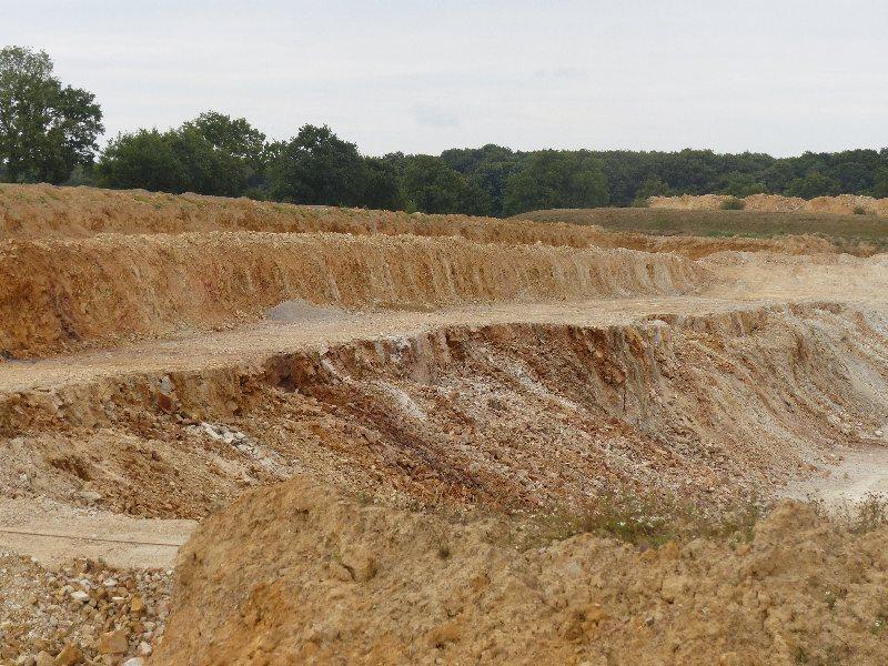 Journée découverte du 29 juillet 2014 - Visite de la carrière Lafarge à Chazé-Henry - 2