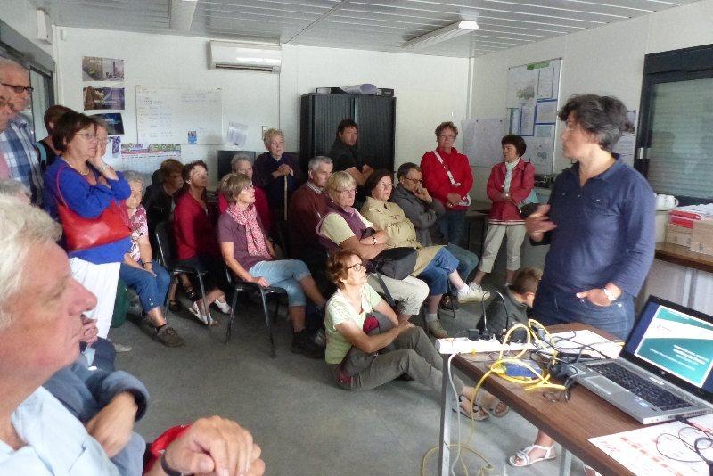 Journée découverte du 29 juillet 2014 - Visite de la carrière Lafarge à Chazé-Henry -4