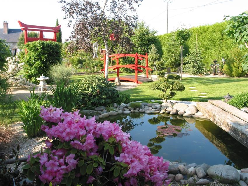 Jardin Secret du Grand Boulay jardin botanique Denazé Mayenne jardin de la sérénité jardin japonais